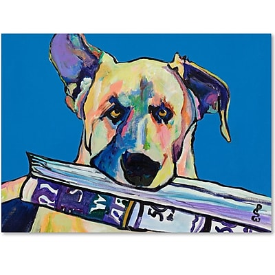 Trademark Fine Art Pat Saunders 'Daily Duty' Canvas Art 18x24 Inches