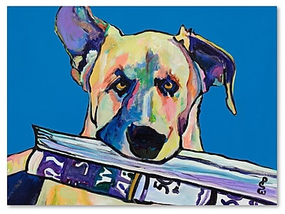 Trademark Fine Art Pat Saunders 'Daily Duty' Canvas Art 24x32 Inches