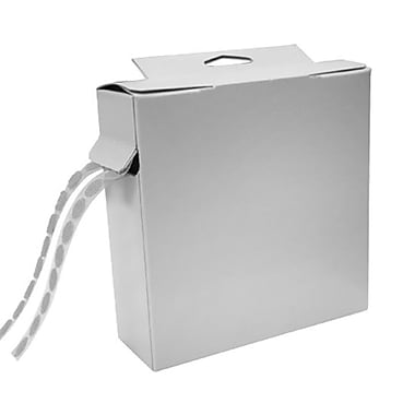 Tape Logic Dot Roll Combo Pack, 200/Carton, White