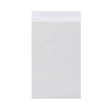JAM Paper® Cello Sleeves with Self Adhesive Closure, 9.25 x 12.25, Clear, 1000/Pack
