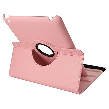 Natico 60-IM360-DPK Faux Leather Folio Case for Apple iPad Mini, Dark Pink