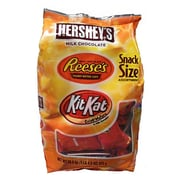 HERSHEY'S Snack Size Assortment, 20.3 oz