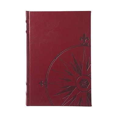 Eccolo™ Faux Leather Nautilus Journal, Burgundy
