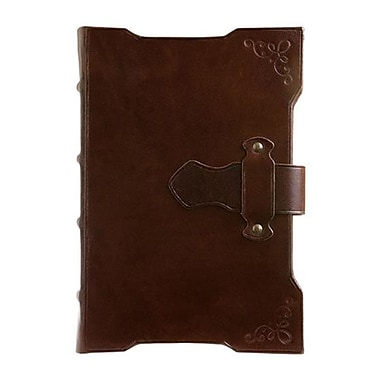 Eccolo™ Genuine Leather Franciscan Latch Journal
