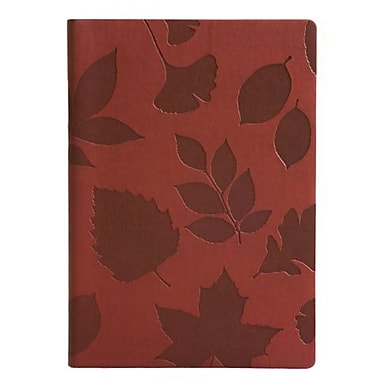 Eccolo™ Faux Leather Nature Journal, Burgundy