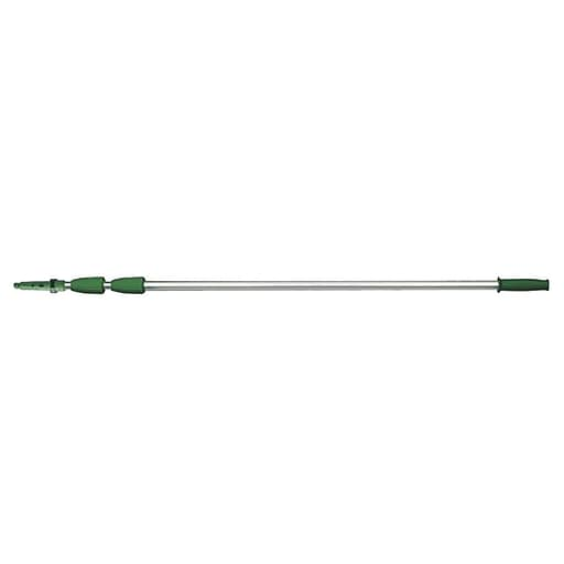 Unger® Opti Loc - 3 -sections 14' Aluminum 3 Section Extension Pole, Green