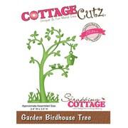 """CottageCutz® Elites 3.5"""" x 2.4"""" Universal Thin Die, Garden Birdhouse Tree"""