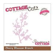 """CottageCutz® Elites 4"""" x 2 1/2"""" Universal Thin Die, Cherry Blossom Branch"""
