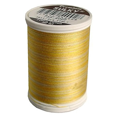 Sulky Blendables Thread 30 Weight, Buttercream, 500 Yards