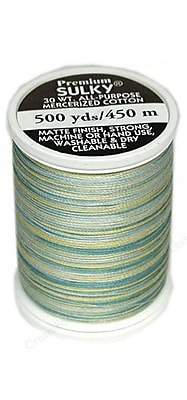 Sulky Blendables Thread 30 Weight, Sun And Sea, 500 Yards