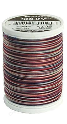 Sulky Blendables Thread 30 Weight, America, 500 Yards