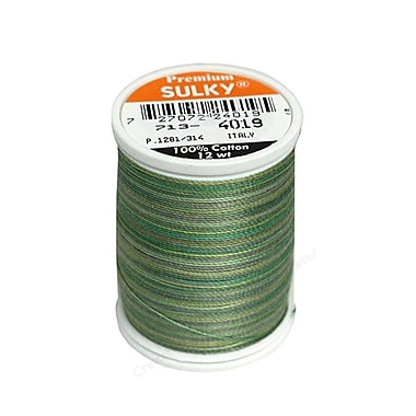Sulky Blendables Thread 12 Weight, Forest Floor, 330 Yards