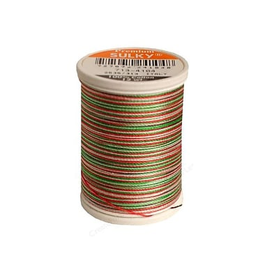 Sulky Blendables Thread 12 Weight, Christmas Trio, 330 Yards