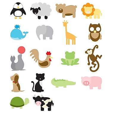 Slice/Elan® Fabrique Design Card, Animal Frenzy