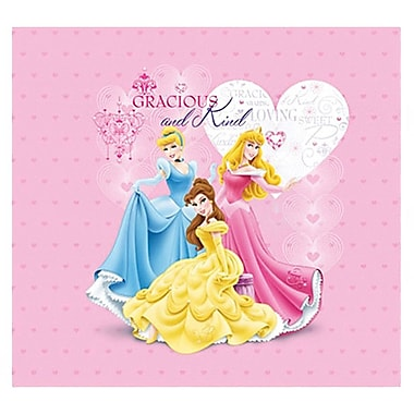 Trends International Princess Glitter & Embossed Cover Postbound Album, 12