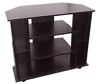 Ore International® Wood TV Stand, Black