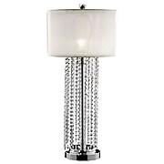 """Ore International® 30"""" Simple Elegance Table Lamp, Ivory"""