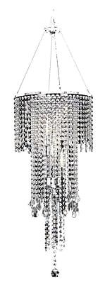 Ore International® K-5112H Incandescent 40 W Rain Metal Ceiling Lamp