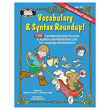 Super Duper® Vocabulary & Syntax Roundup Book, Grades PreK-5