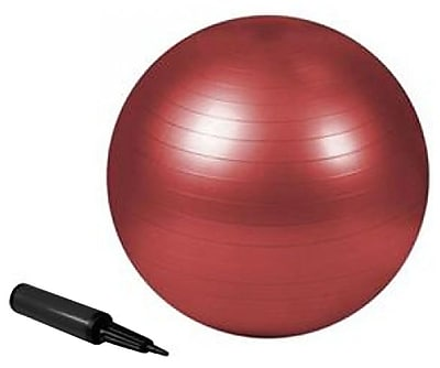 Trimax Sports® Purathletics™ 55cm Exercise Ball, Red