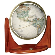 "Replogle 12"" National Geographic Compass Star Globe, Antique"