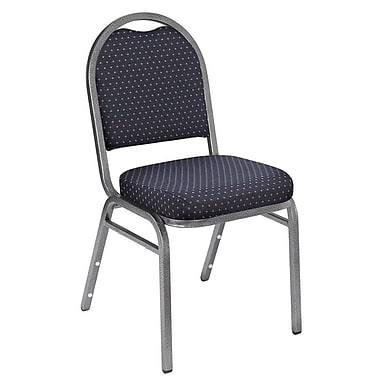 NPS® Pattern Fabric Padded Dome Stack Chairs