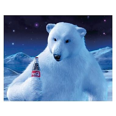 Trademark Fine Art 'Coke Polar Bear with Coke Bottle' 28
