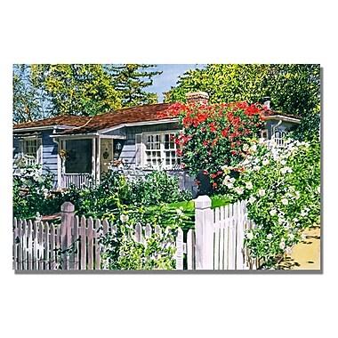 Trademark Fine Art 'Rose Cottage'