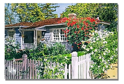 Trademark Fine Art 'Rose Cottage' 18