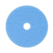 "3M™ 19"" Hi-Performance Burnishing Pad, Sky Blue"