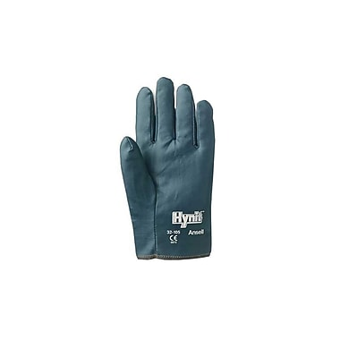 Ansell® Hynit® Interlock Knit Lining Nitrile/Impregnated Fabric Multi-Purpose Gloves, Blue, Small