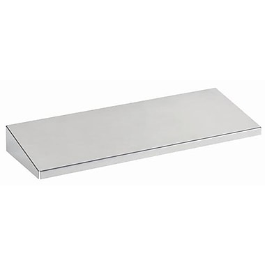 MMF Industries™ STEELMASTER® Slot System Large Shelf, Silver, 1 3/4