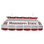 "Trademark Global® 40"" Stained Glass Tiffany Lamp, Mississippi™ State Univ. NCAA"