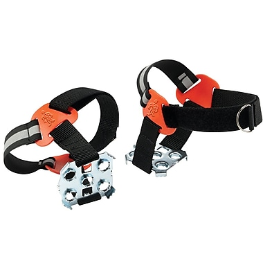Ergodyne® Trex™ 6315 Strap-On Heel Ice Traction Device, Black, XL