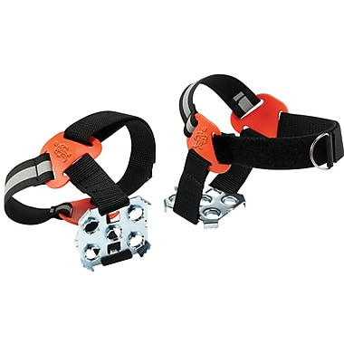 Ergodyne® Trex™ 6315 Strap-On Heel Ice Traction Device, Black, Medium/Large