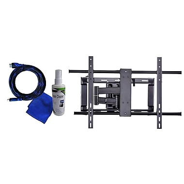 Ready Set Mount™ A3770BPK Full Motion Large TV Wall Mount For Flat Panel TVs Up to 165 lbs.