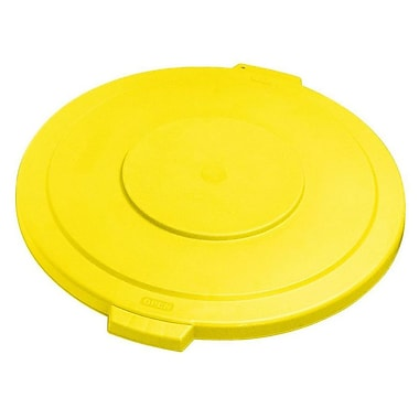 Carlisle Polyethylene Lid for 55 gal. Bronco Series Container, Yellow