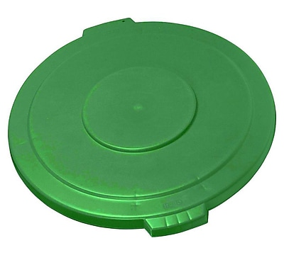 Carlisle Polyethylene Lid for 55 gal. Bronco Series Container, Green