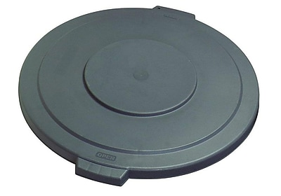 Carlisle Polyethylene Lid for 55 gal. Bronco Series Container, Gray