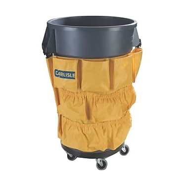 Carlisle Tool Caddy Bag for 32 & 44 gal. Bronco Waste Containers, Yellow