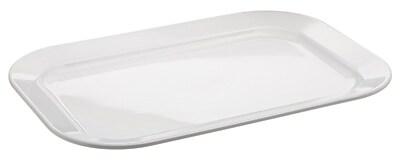 Carlisle 15.5'' x 10.5'' Oblong Platter, White