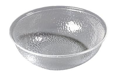 Carlisle 4 qt Round Acrylic Pebbled Bowl