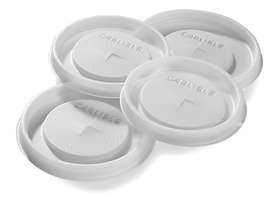 Carlisle 63910L30, Disposable Lid - Fits 10 oz Cambro Tumbler NT10, See Thru