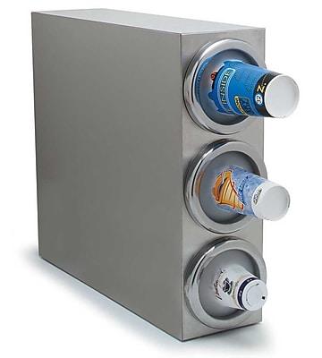 Carlisle 38883G, 3 Cup Dispenser, Vertical Cabinet Model 418194