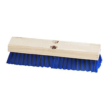 Carlisle 3627514, Flo-Pac Stiff Polypropylene Deck Scrub 12