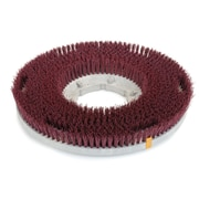 """Carlisle 362000G22-5N, 20"""" D Red Grit Cleaning Brush, General Cleaning"""