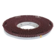 """Carlisle 361900G22-5N, 19"""" D Red Grit Cleaning Brush, General Cleaning"""