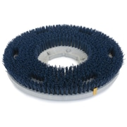 "Carlisle 361700G35-5N, 17"" D Blue Grit Cleaning Brush, Scrubbing"