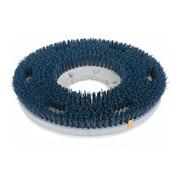 "Carlisle 361300G35-5N, 13"" D Blue Grit Cleaning Brush, Scrubbing"