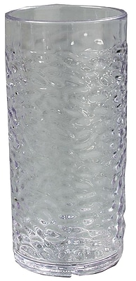 Carlisle 550807, 8 oz Pebble Optic Tumbler, Clear
